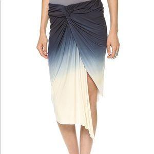 Young Fabulous & Broke Ombré Asymmetrical Skirt.